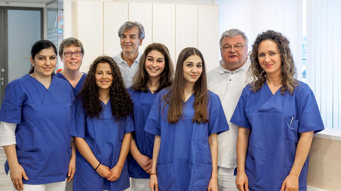 Die Praxis von Hausarzt Dr. Fürsch und Nephrologe Aazami Gilan in Königstein - unser Team