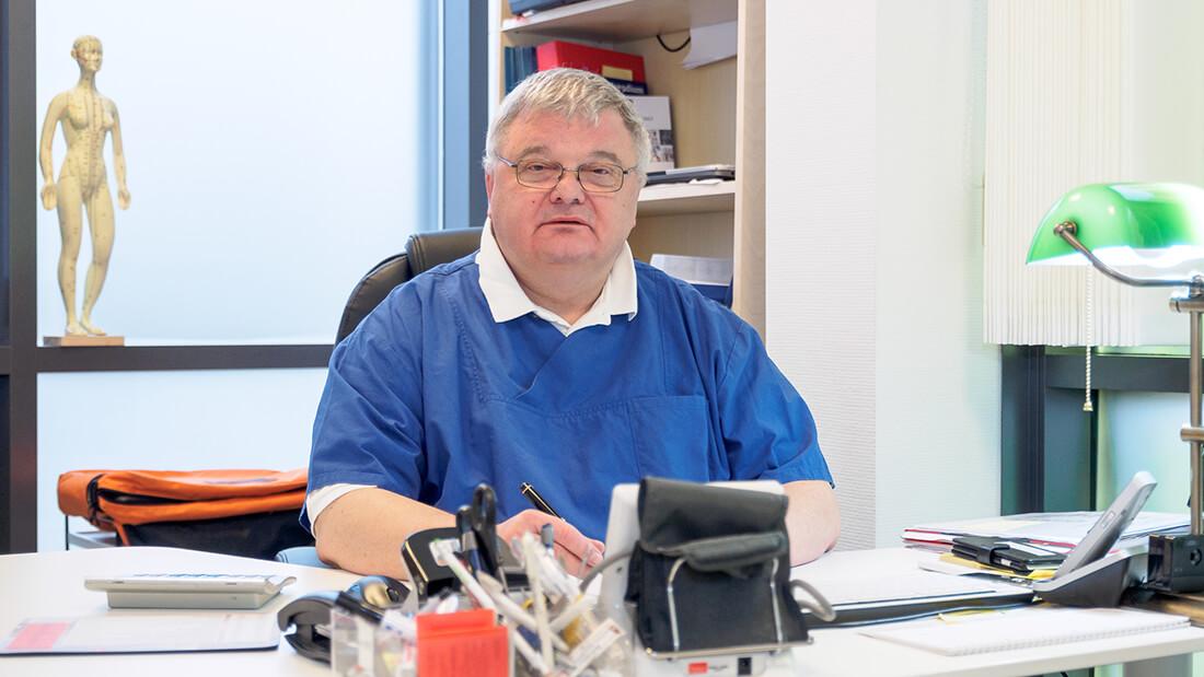 Die Praxis von Hausarzt Dr. Fürsch und Nephrologe Aazami Gilan in Königstein - Portrait Dr. Fürsch